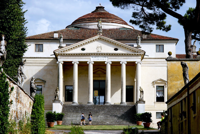 Palladio's Villa Rotunda