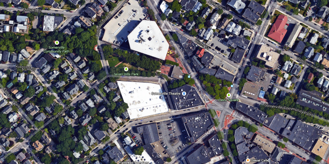 Aerial View of Somerville