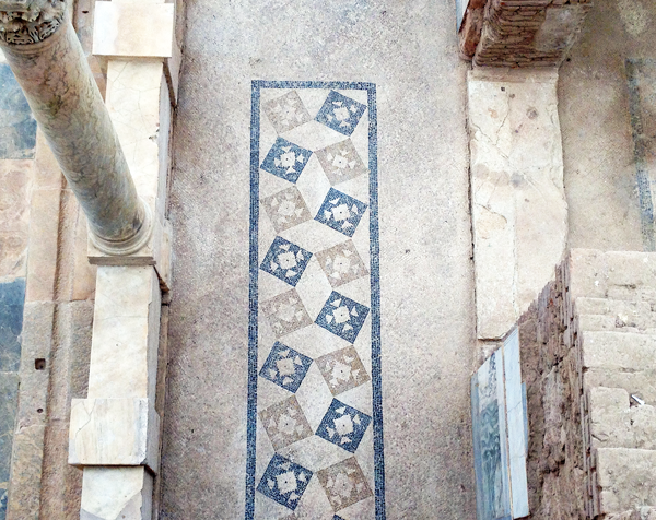 Ephesus Mosaic Floor in Terrace House