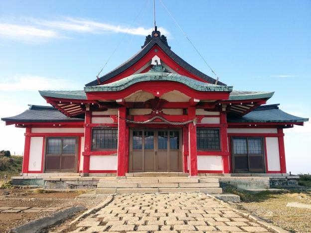 Shrine Near Mount Fuji
