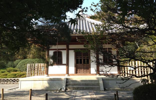 Japanese Hall near Kyoto