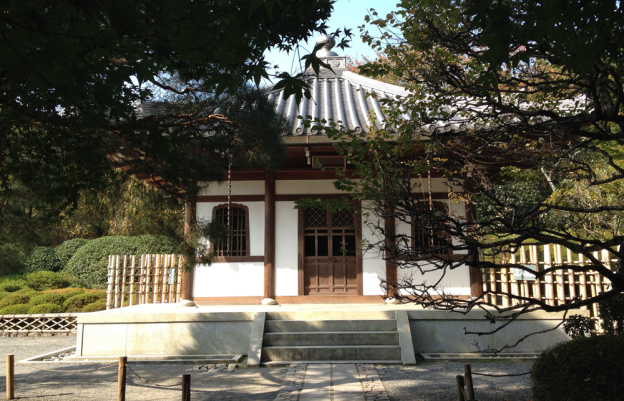 Japanese Hall near Kyoto
