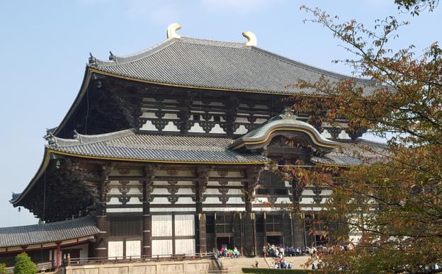 Todaji Temple in Nara Park