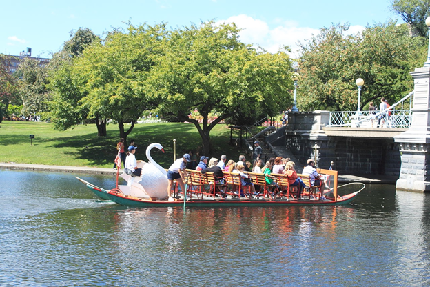 Boston Public Garden Swan Boat
